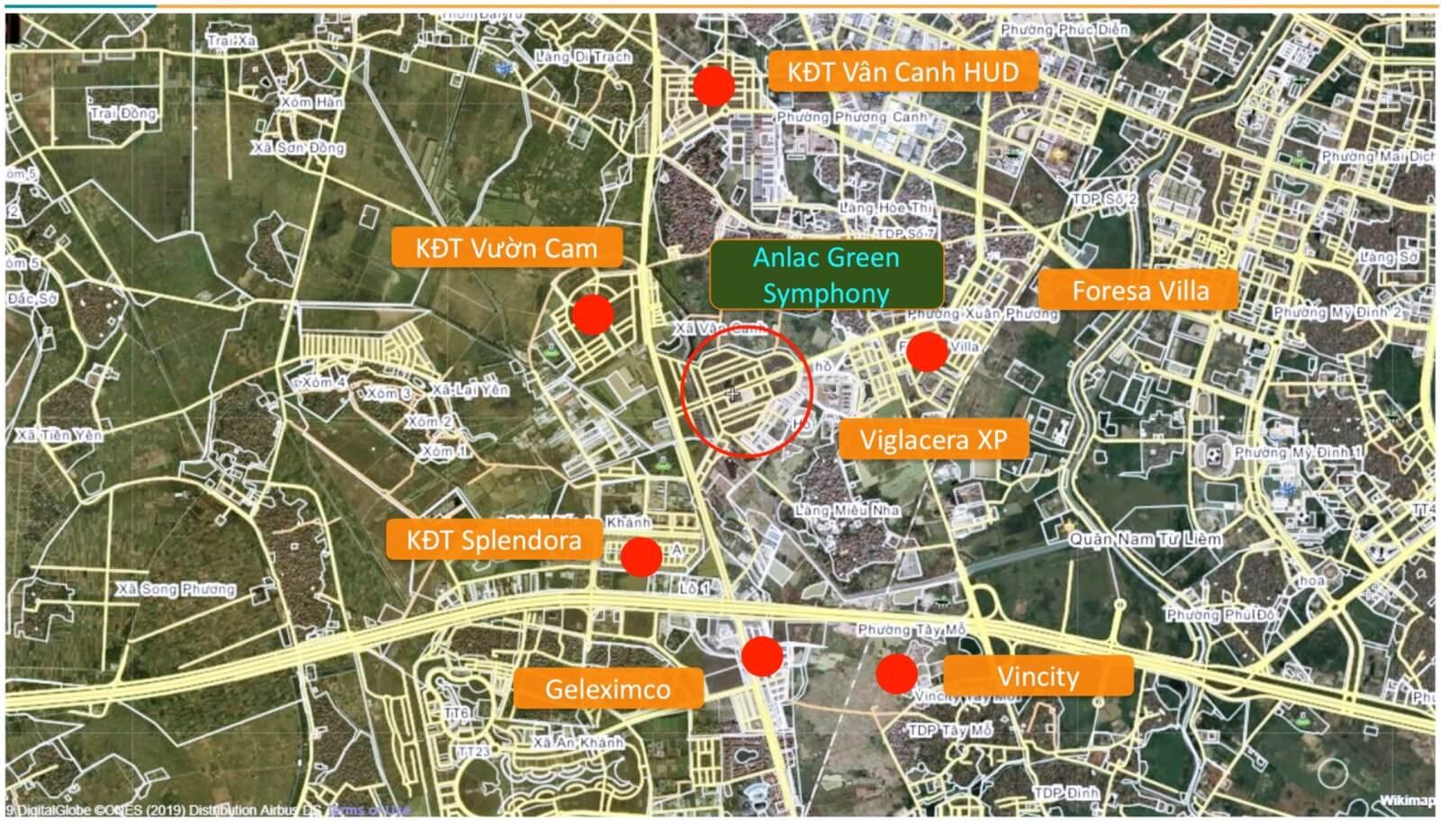 Maps Vân Canh An Lạc