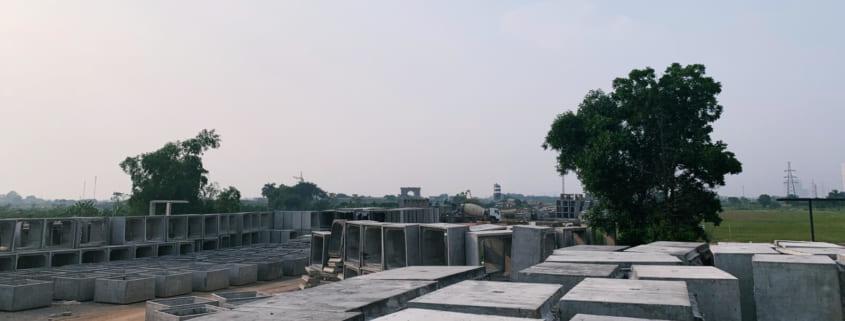 Vật liệu xây dưungj làm hạ tầng đường vành đai 3.5