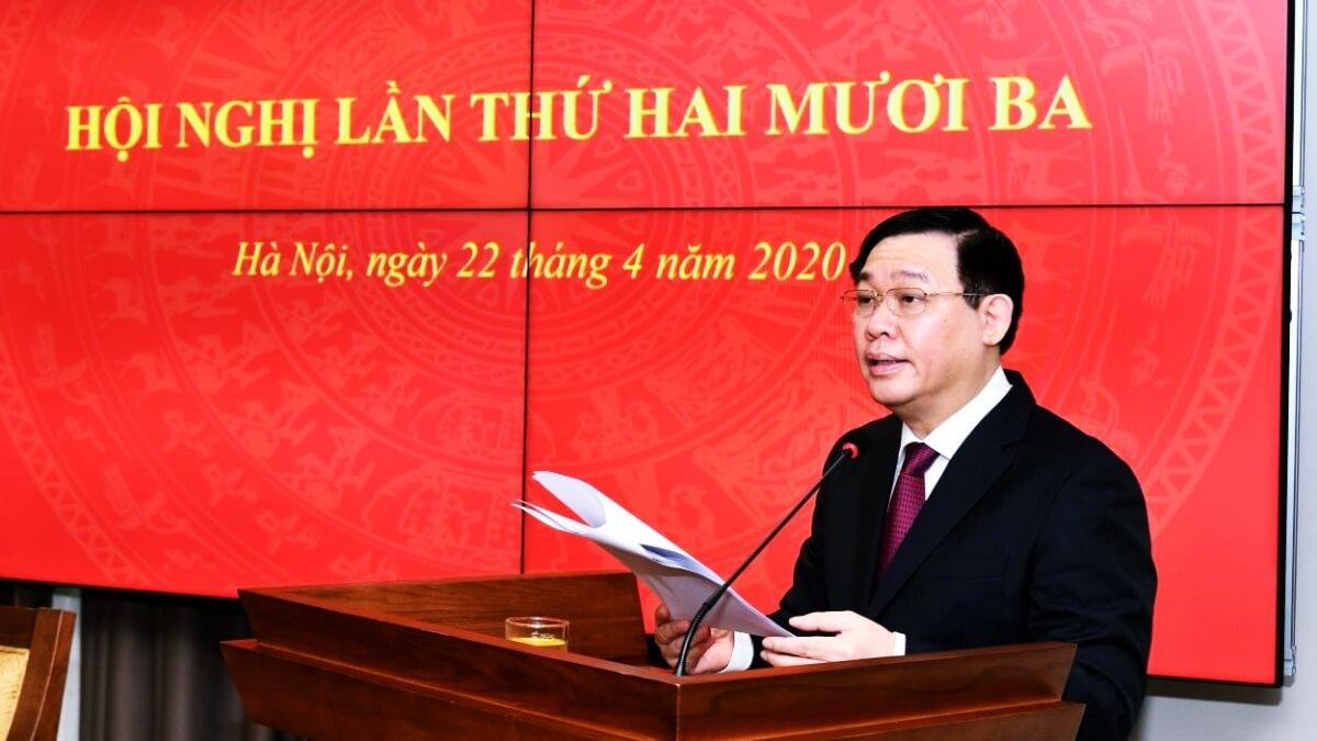 Vương Đình Huệ - Bí thư thành uỷ Hà Nội