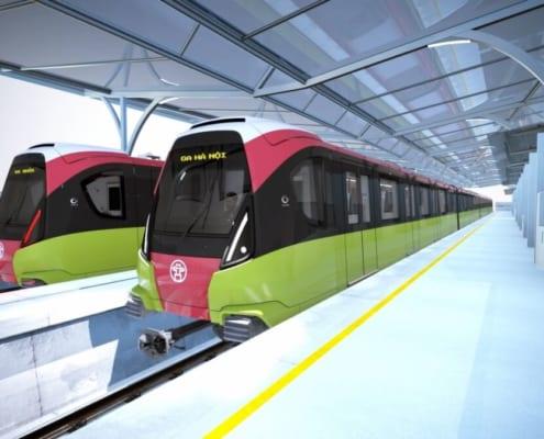Hình ảnh ga đường sắt đô thị Hà Nội
